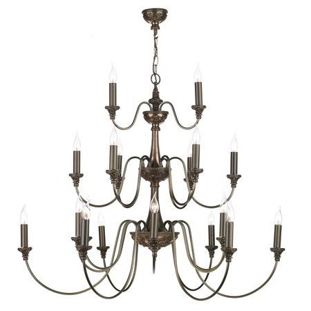 Bailey Rich Bronze 21 Light Pendant