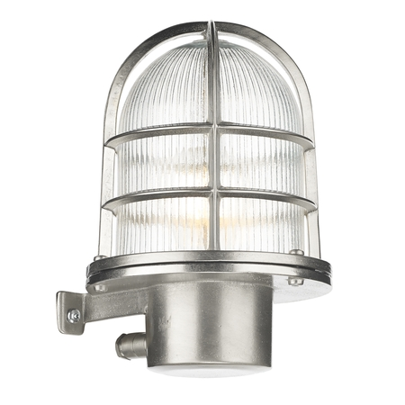 Pier Outdoor Wall Light Nickel