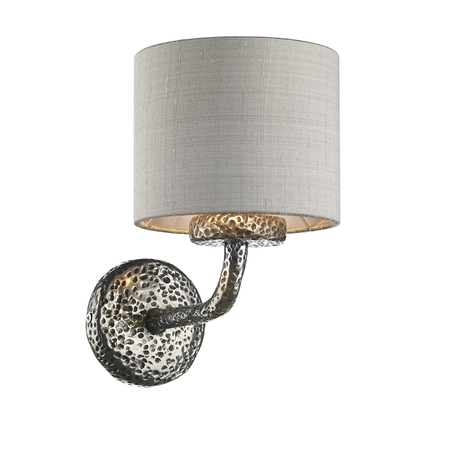 Sloane Pewter Single Wall Light