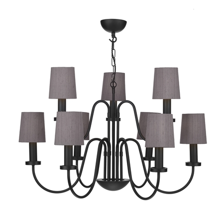Pigalle Black 9 Light Pendant