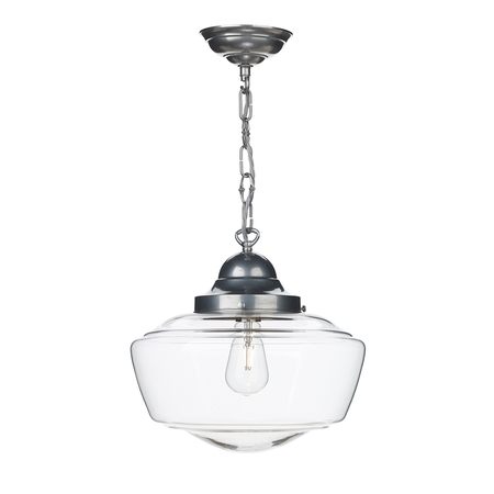 Stowe Clear Glass Pendant
