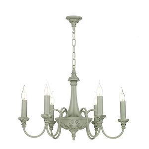 Bailey Ash Grey 6 Light Pendant