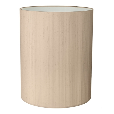 25cm Silk Tall Drum Shade