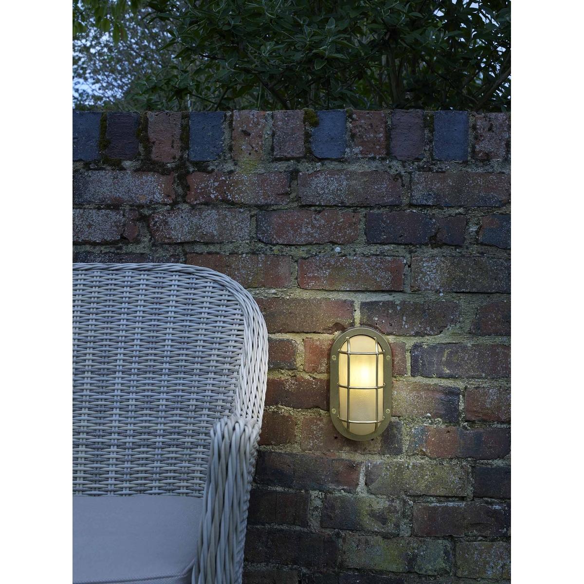 Lighthouse Brass Wall Light