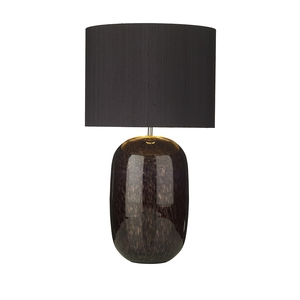 Pura Black Mirrored Table Lamp