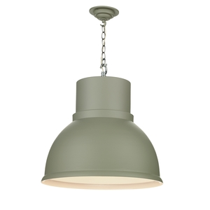 Shoreditch Large Powder Grey Pendant